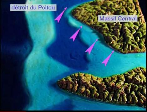 Histoire géologique Bassin Aquitain