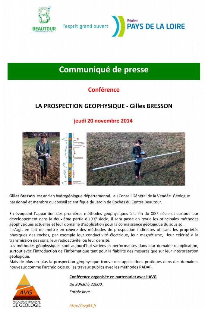 CP conférence Bresson au Centre Beautour 20-11-2014-1