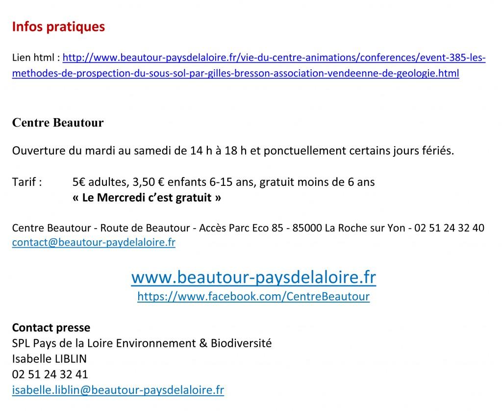 CP conférence Bresson au Centre Beautour 20-11-2014-2
