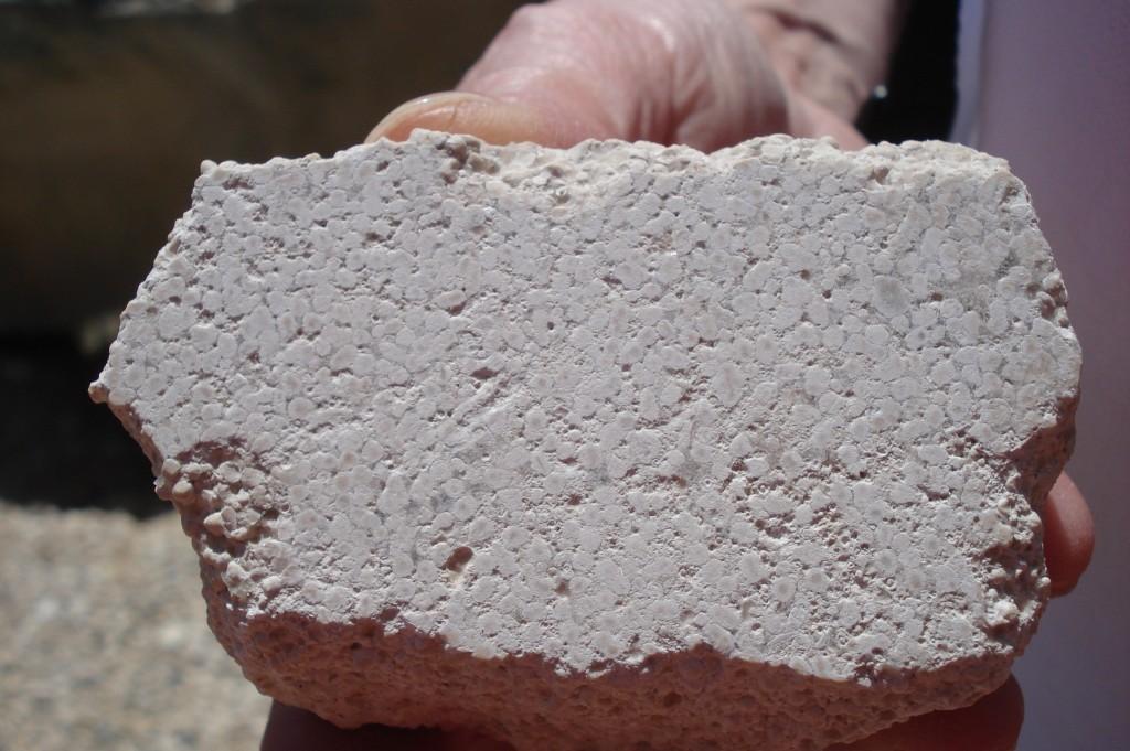 Calcaire pisolithique (16 - Vilhonneur)
