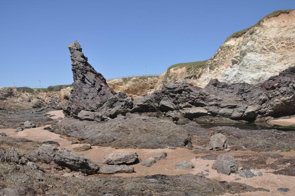 Le Rocher de Sainte Véronique - Littoral de Brétignolles-sur-Mer (J.Chauvet)