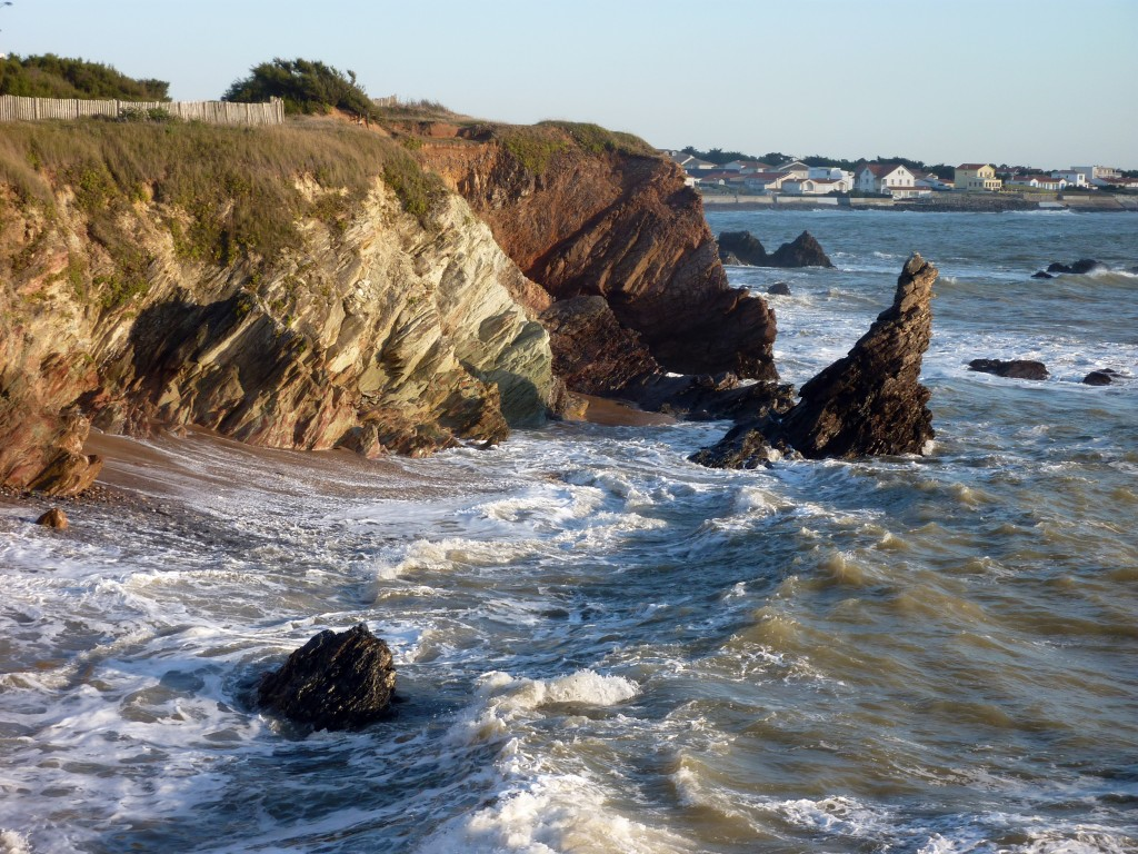 Le Rocher de Sainte Véronique - Littoral de Brétignolles-sur-Mer