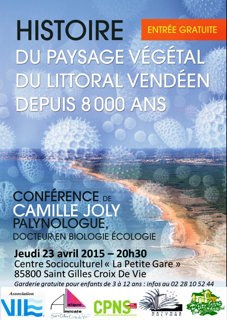 affiche conférence Camille JOLY - SGXV_v2