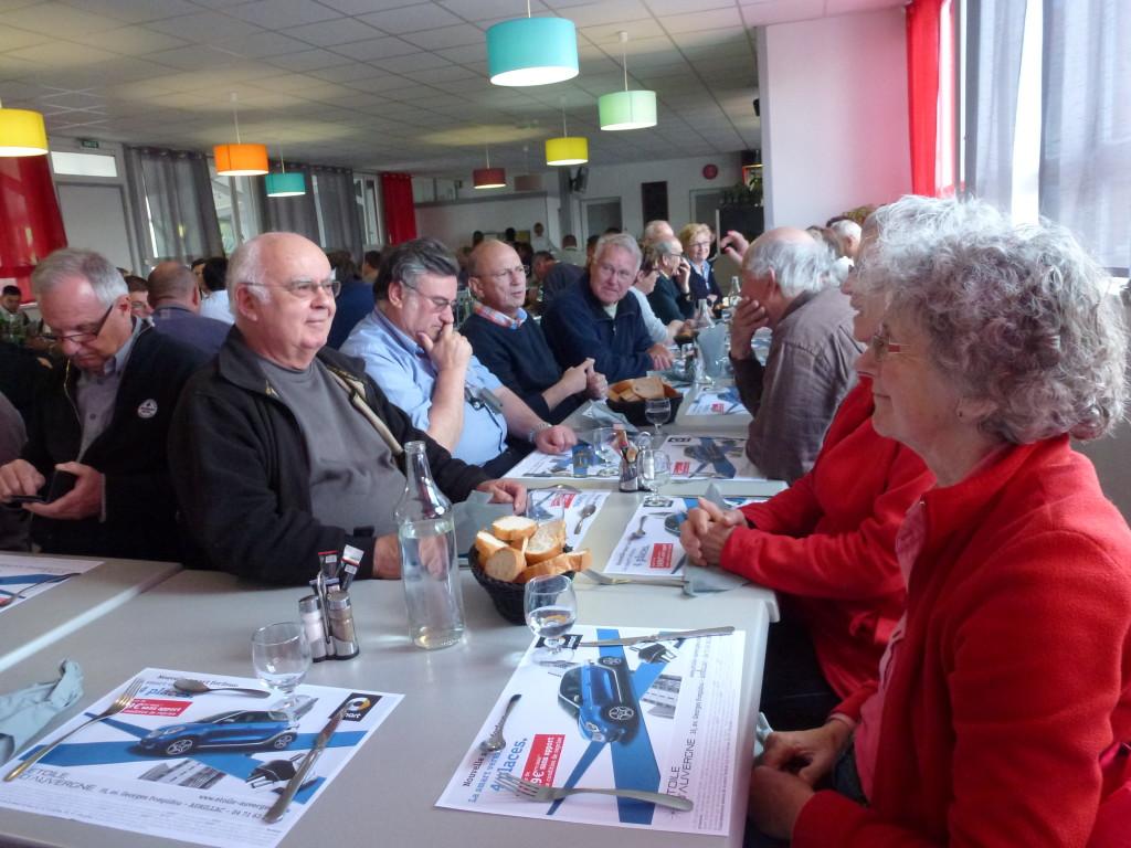 AVG. 2015.06.26. Sortie Cantal - Repas du soir à Aurillac