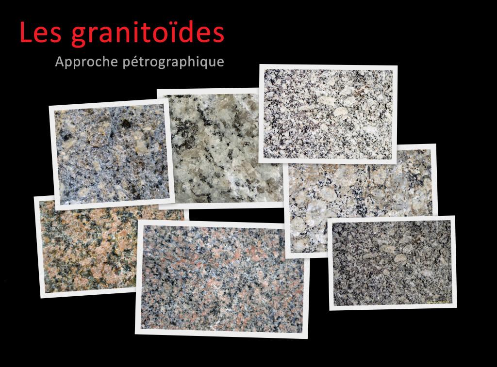 Photos présentation granitoïdes